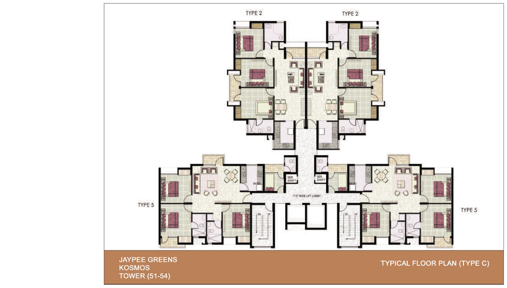 Jaypee greens for Cluster house plans